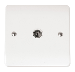 CLICK MODE COAXIAL SOCKET SINGLE OUTLET