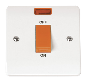CLICK MODE 1-GANG45A D/P SWITCH WITH NEON