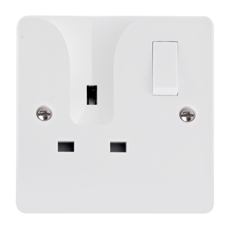 CLICK MODE 13A 1G DP SW SOCKET LOCATING PLUG