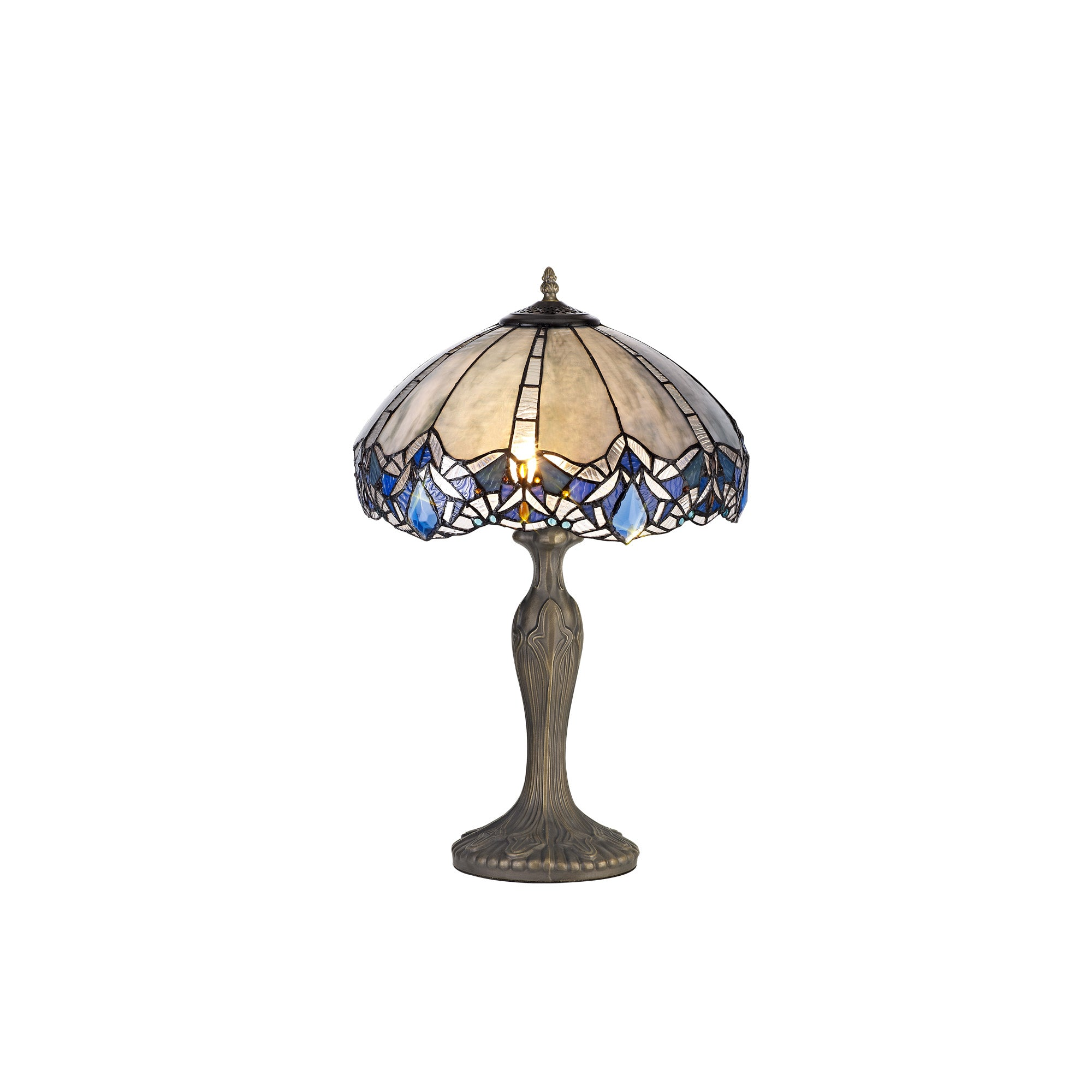 Atlantis Tiffany Style Table Lamp
