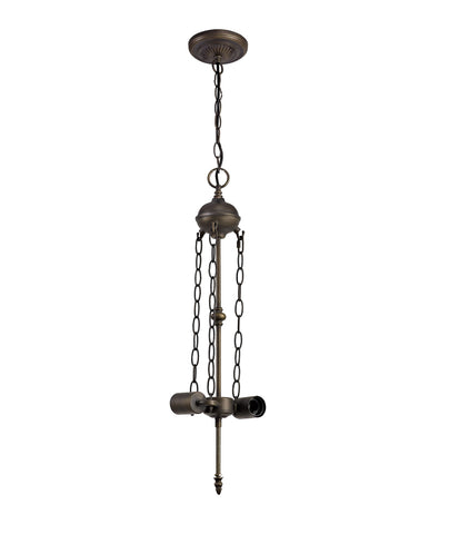 Deco Full Suspension Uplighter Pendant Kit for Tiffany Shades