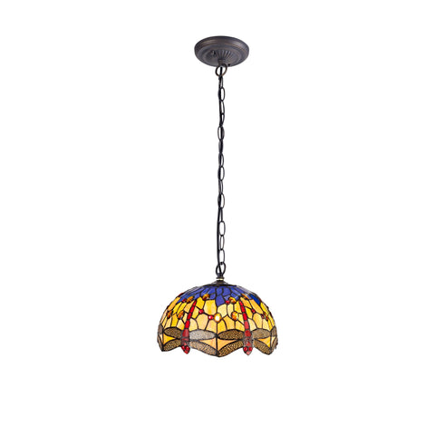 Dragonfly Tiffany Pendant Light