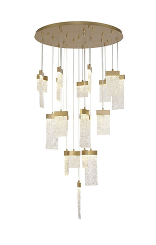 Flake Contemporary Chandelier
