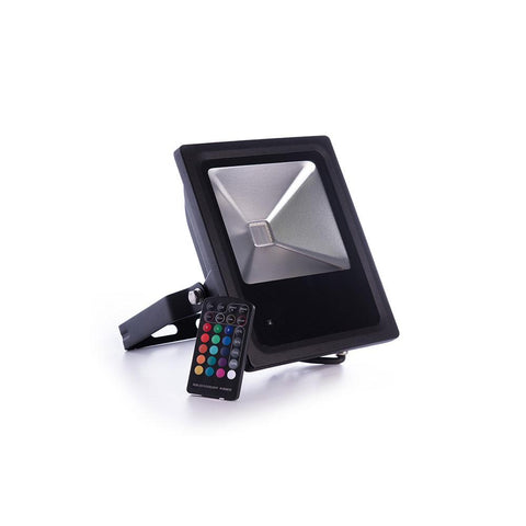 DIAMOND SAXON RGB REMOTE CONTROL FLOOD LIGHT 30W