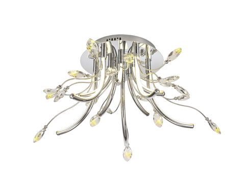 Lotus Ceiling Semi Flush