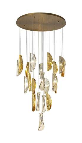 Native Contemporary Chandelier