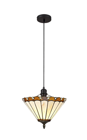 Parlour Single Pendant Uplighter