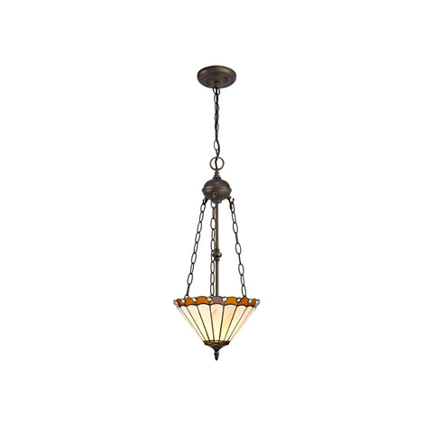 Parlour Chandelier Style Uplighter Pendant