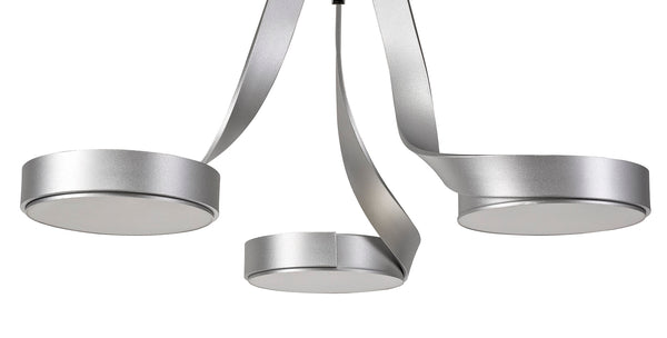 Ribbon Semi Flush Ceiling Light