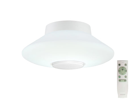 The Roswell Remote / App Controlled Ceiling Light With Speaker