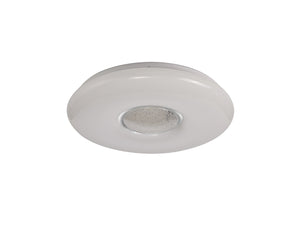 SHADES Ceiling, 1 x 24W LED, CCT Switchable 3000/4000/6000K, 2032lm, Opal White, 3yrs Warranty