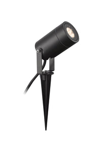 SPIKE Spike Light, 1 x GU10 , IP65, Black, 2yrs Warranty (2LT314A)