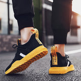 2019 NEW 4D PRINT MEN RUNNING SHOES
