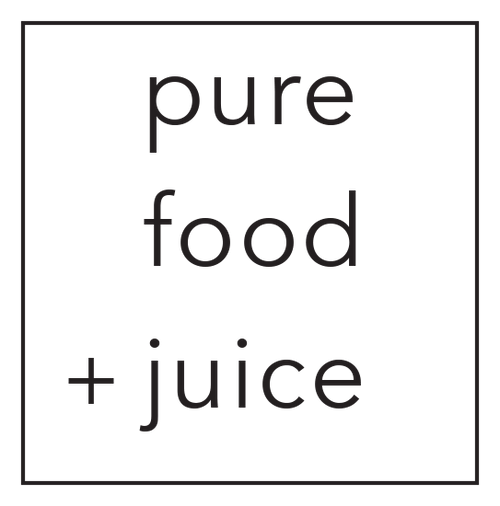 Pure Food and Juice Logo