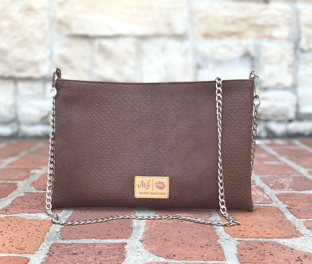 Chocolate Cobra Crossbody