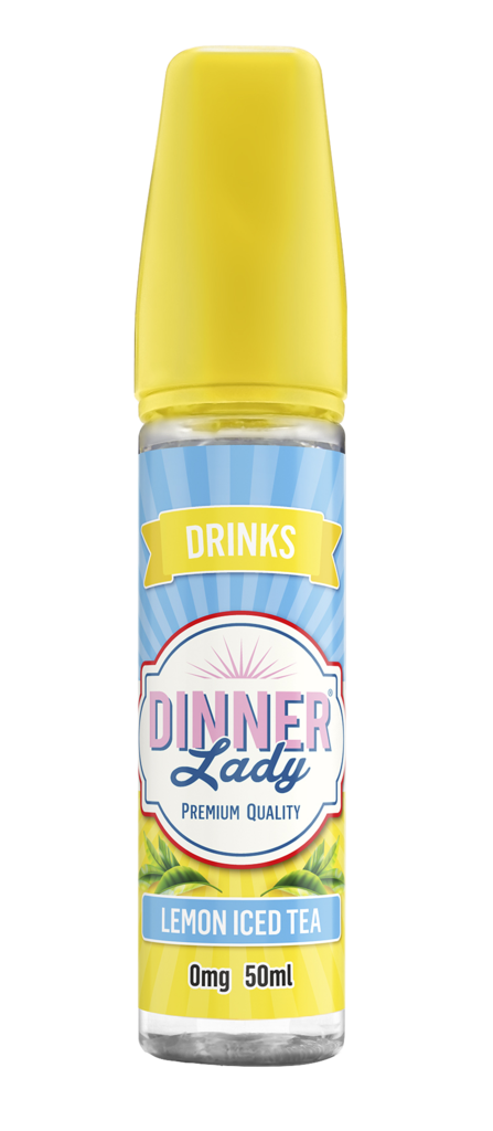 Dinner Lady Drinks Lemon Iced Tea 60ml Vapour Titan Australia