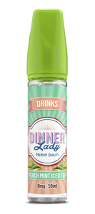 Dinner Lady Drinks Peach Mint Iced Tea 60ml Vapour Titan Australia