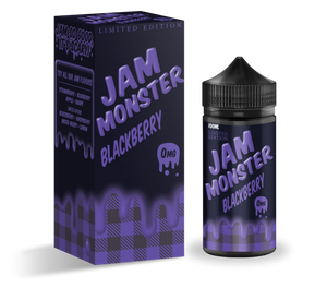 Jam Monster Blackberry 100ml (Limited Edition)-E-Liquid-Vapour Titan