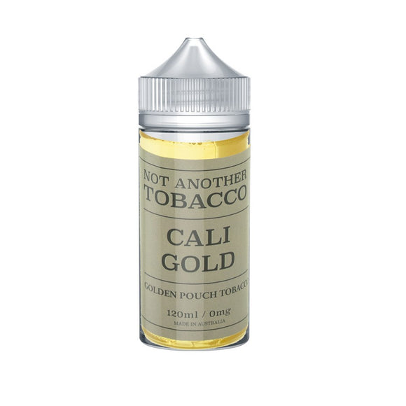 Not Another Tobacco Cali Gold 120ml ejuice Australia