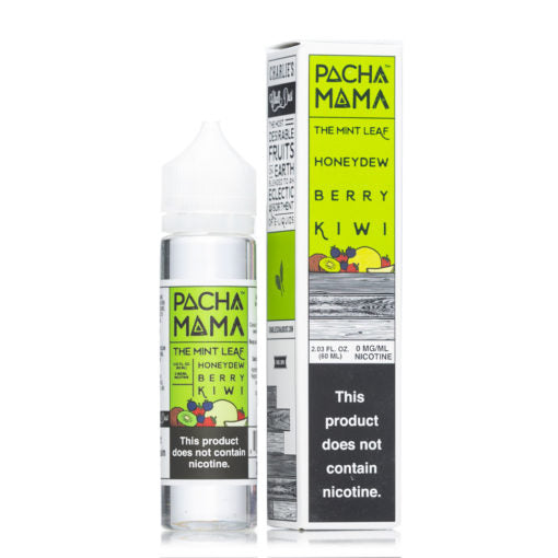 Pachamama The Mint Leaf Honeydew Berry Kiwi 60ml-E-Liquid-Vapour Titan