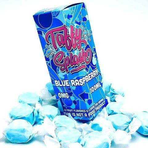 Taffy Splash Blue Raspberry 100ml-Vapour Titan