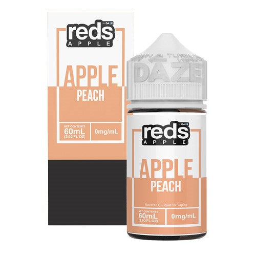 Reds Peach Apple eLiquid 60ml eJuice - Vapour Titan Sydney Australia