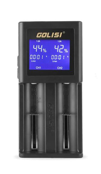 Golisi S2 Battery Charger-Chargers-Vapour Titan