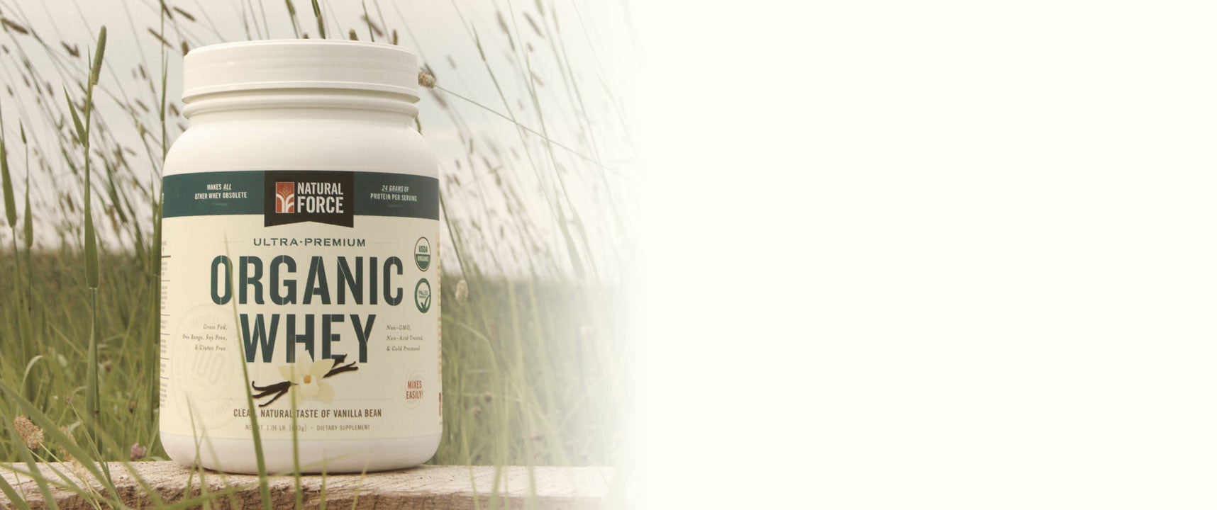 Grass-Fed Organic Whey