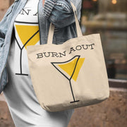 Shopping bag Apéro <br/> BURN AOUT Blanc Ceat Me