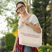 Shopping bag Pompier <br/> # Superpompier Blanc Ceat Me