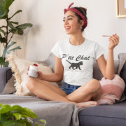 T-Shirt Chat Femme <br/> P'tit Chat Ma Ma Maow Ceat Me