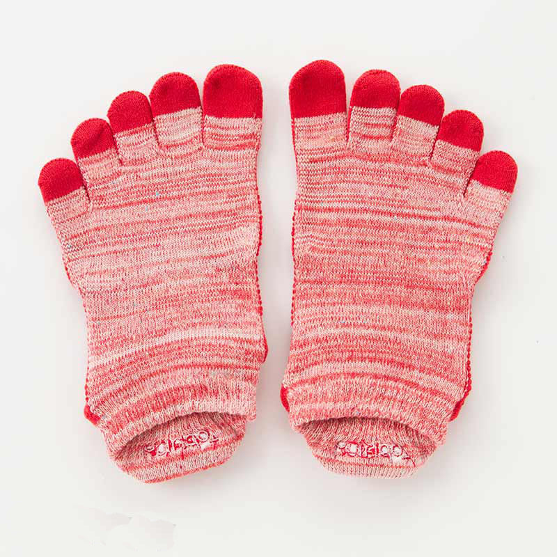 HEATHER FOOTIE TOE SOCKS *BETTER BALANCE*