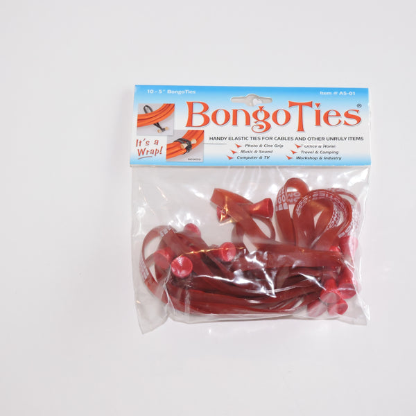 Red Bongo Cable Ties 10 pk (A5-01)