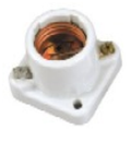 Mitronix 6034 porcelain med base socket