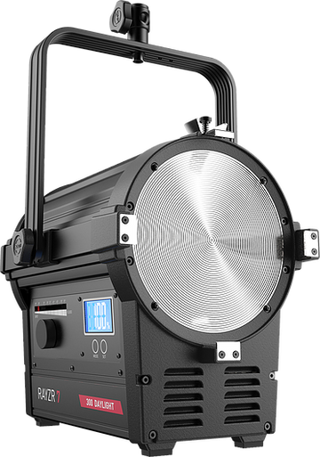 "(1004349) Rayzr 7 300 Daylight 7"" LED Fresnel Light"