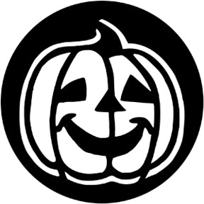Rosco 78105 - Happy Pumpkin Steel Gobo