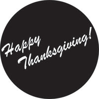 Rosco 78750 - Happy Thanksgiving 1 Steel Gobo