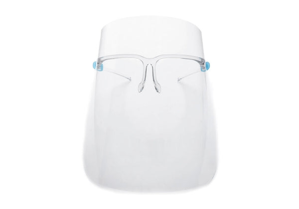 Face Shield with Glasses Frame (Anti-Fog)
