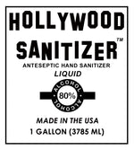 Hollywood Hand Sanitizer (Liquid with 80% Alcohol)
