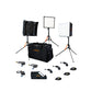 Aladdin Bi-Flex 1 - 3 light kit w/ case