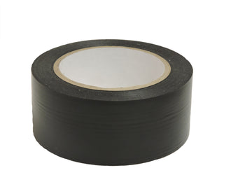 "2"" Black Pro Vinyl Floor Tape"