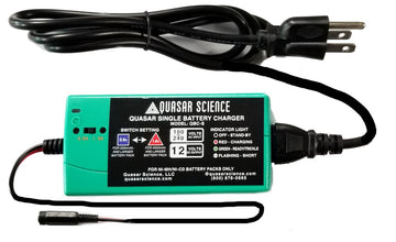 Quasar Single Battery Charger