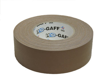 "2"" Brown Pro Gaffers Tape"