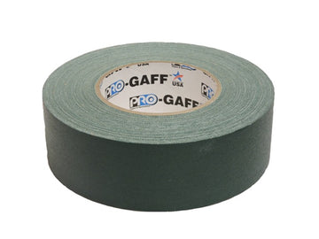 "2"" Green Pro Gaffers Tape"