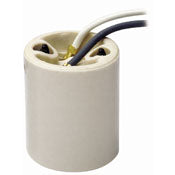 Leviton 10085 - Medium Base, One-Piece porcelain socket