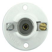 Leviton 10028 - Candelabra Base Urea Lamp holder