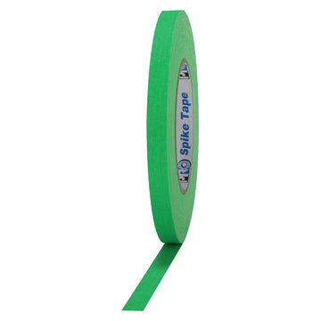 "1/2"" Fluorescent Green Pro Spike Tape"
