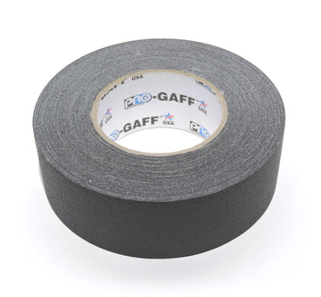 "2"" Black Pro Gaffers Tape"