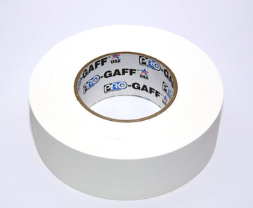 "2""  White Pro Gaffers Tape"