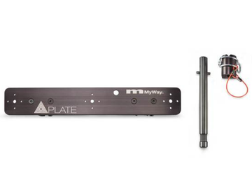 Quasarplate MYWAYGRIP T12 single plate